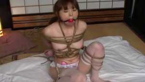 Hot Asian Japanese Pornstar Rope Bound