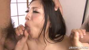 Lovely Asian XXX Blowjob Babe Maki Takei